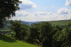 Widok od Lofthouse, North Yorkshire zdjęcia royalty free