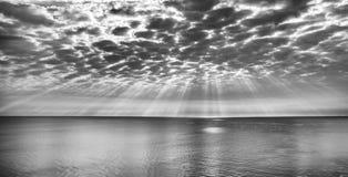 Widok od Miami Plaży Obraz Royalty Free