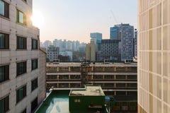 Widok od mieszkań fotografia stock
