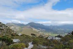 Widok od Muizenberg szczytu Fotografia Royalty Free