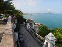 Widok od obserwacja pokładu Koh Samui, Tajlandia Zdjęcie Royalty Free
