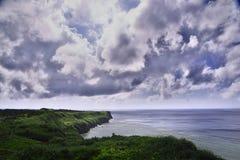 Widok od obserwacja stojaka Funagisaginavanata przy Irabujima Fotografia Royalty Free