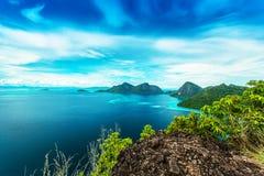Widok od odgórnej wyspy Obrazy Stock