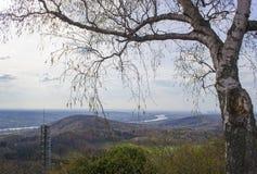 Widok od Oelberg, Niemcy Zdjęcia Stock