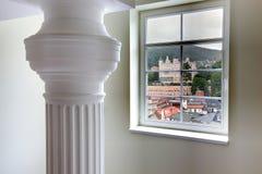 Widok od okno Zdjęcie Royalty Free