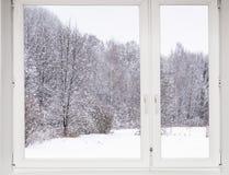 Widok od okno na Zdjęcia Royalty Free