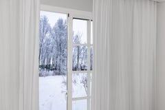 Widok od okno na Fotografia Stock