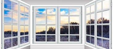 Widok od okno na Zdjęcie Royalty Free