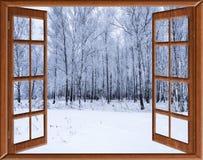 Widok od okno na Fotografia Royalty Free