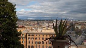 Widok od okno ulicy Rzym zdjęcie wideo