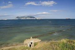 Widok od Parque De Centenario Gibraltar Obraz Stock