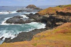Widok od Phillip wyspy w kierunku Nobbies Obraz Royalty Free