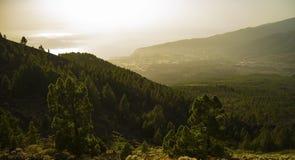 Widok od pico virigoyo Fotografia Stock