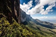Widok od plateau Roraima Granu Sabana region - Wenezuela, Ameryka Południowa Obraz Stock