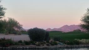 Widok od pola golfowego Zdjęcia Stock