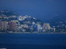 widok od portu zdjęcie royalty free