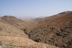 Widok od przepustka szczytu los angeles Tablada Zdjęcia Royalty Free