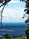 Widok od punkt obserwacyjny góry Dziąsła Obrazy Stock