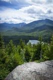 Widok od punktu obserwacyjnego na górze Jo Fotografia Royalty Free