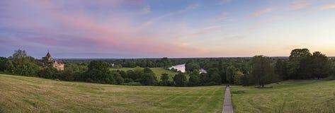 Widok od Richmond wzgórza w Londyn Fotografia Stock