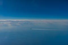 Widok od samolotu Obraz Stock