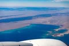 Widok od samolotu Obrazy Royalty Free