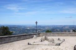 Widok od San Marino fortecy Fotografia Stock