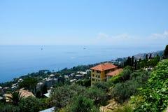 Widok od Sant'Ilario zdjęcia stock