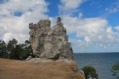 Widok od skały Zdjęcia Royalty Free