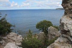 Widok od skały Obraz Royalty Free