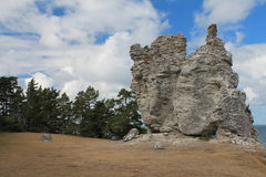 Widok od skały Obrazy Stock
