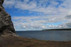 Widok od skały Fotografia Royalty Free