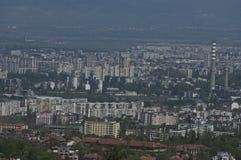Widok od Sofia miasta zdjęcia stock