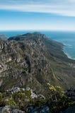 Widok od Stołowej góry Fotografia Stock