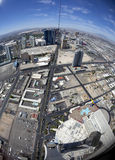 Widok od Stratophere Obrazy Stock