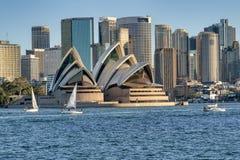 Widok od Sydney schronienia obrazy stock