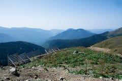 Widok od szczytu Aibga Obraz Stock