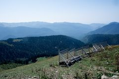 Widok od szczytu Aibga Zdjęcie Royalty Free