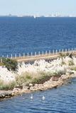 Widok od Szwecja Dani zdjęcie stock