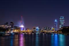Widok od Thames Zdjęcie Stock