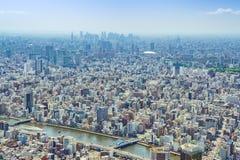 Widok od Tokio Skytree Obraz Stock
