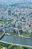 Widok od Tokio Skytree Fotografia Stock
