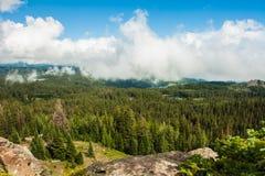Widok od Uroczystych Mes, Kolorado Zdjęcia Stock