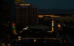 Widok od Weneckiego Las Vegas Obraz Royalty Free