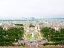 Widok od wieży eifla Obrazy Royalty Free