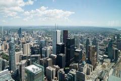 Widok od wierza w Toronto Ontario Obraz Royalty Free