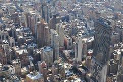 Widok od wierzchołka empire state building w Miasto Nowy Jork, usa Obrazy Stock