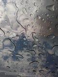 Widok od wierzchołka w burzy Fotografia Stock