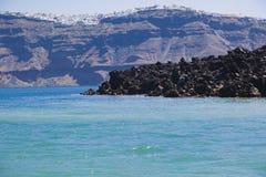 Widok od wulkanu zdjęcie royalty free
