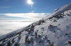 Widok od Wysokich Tatras gór Obraz Royalty Free